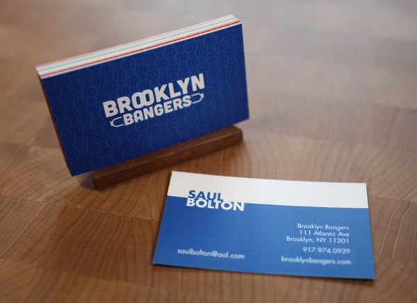 10 best business cards images on pinterest card designs card brooklyn bangers business card design inspiration card nerd reheart Images