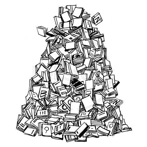 lekstock.com - #384 - pile de livres