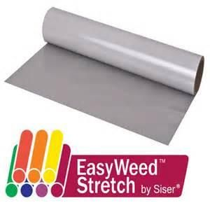 ScriptDesigns.ca offers Siser Easyweed Stretch HTV - can be peeled hot or cold. Available in many colours and sizes. Best overall prices in Canada.