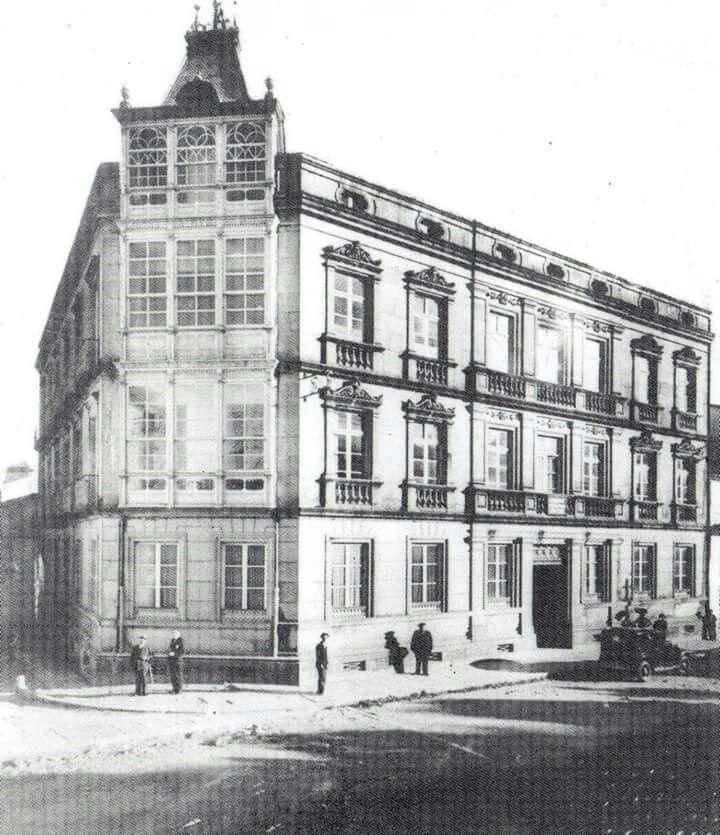 Sanatorio de Baltar.Esquina Carreira do Conde-Xeral Pardiñas