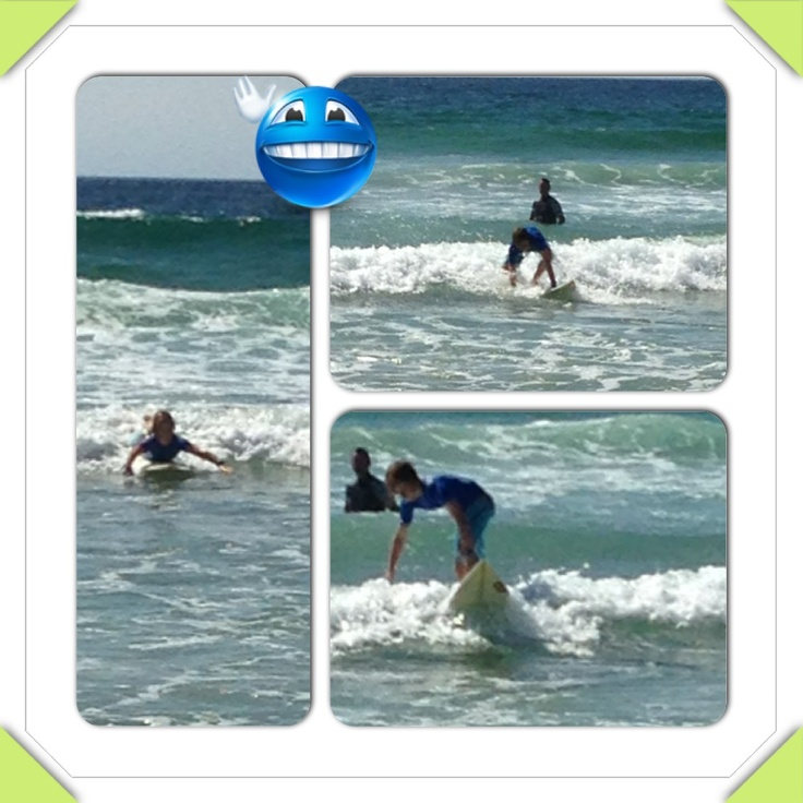 Jack surfing @ MM Beach