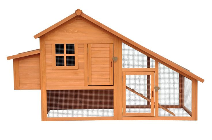 Make them feel comfortable with this Habitat Chicken Coop Natural. More of Chicken Coop ideas at PetPossibilities.com. Click save to view later