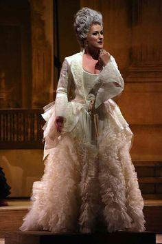 Diana Damrau as La Contessa in 'Le nozze di Figaro',La Scala,2016
