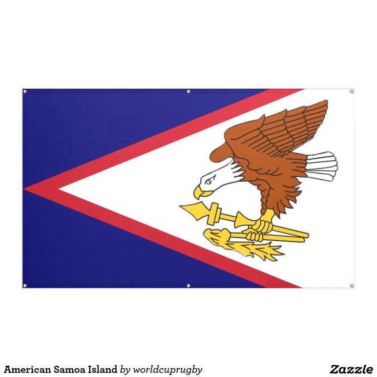 American Samoa Island Banner