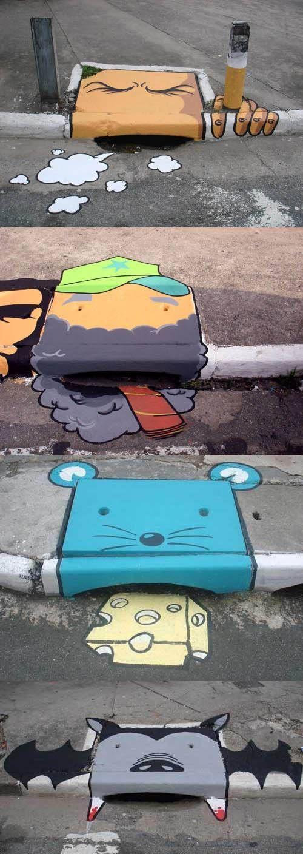 Sao Paulo : Street Art [image] | scaryideas.com                                                                                                                                                                                 More