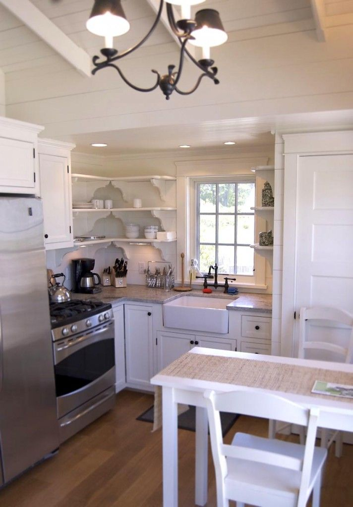 Studio Kitchen Love The Sink In This Small Coastal Cottage Part 83