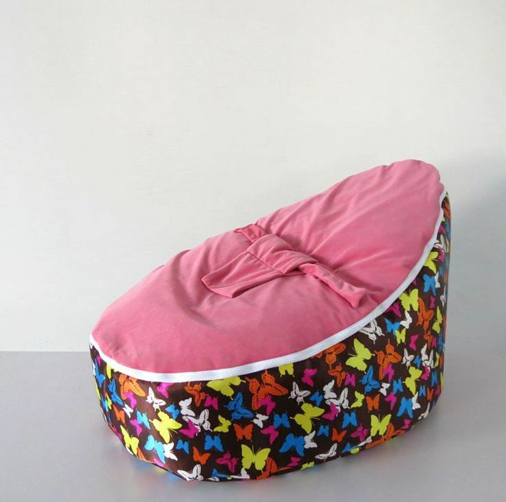 Pretty Zipper Baby Bean Bag Soft Sleeping Portable Seat Without Filling