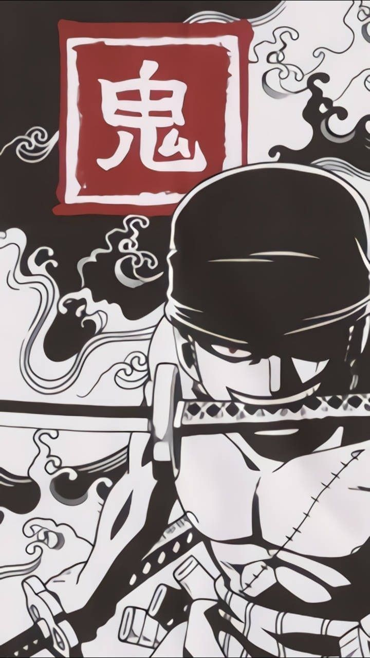 Roronoazoro Santoryu Onepiece Anime Wallpaper One Piece Anime One Piece Manga