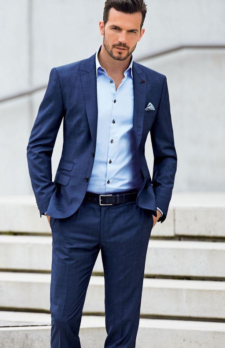 87 best Bob\'s wedding suit! images on Pinterest | Blue suits ...