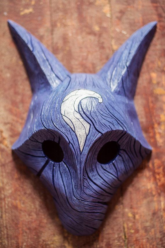 inspired Kindred Lamb and Wolf Mask League of Legends Lol