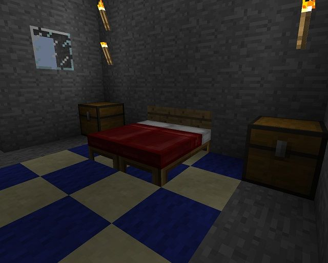 17 best images about minecraft on pinterest circles for Nice bedroom designs minecraft