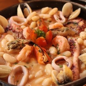 Feijoada de frutos do mar