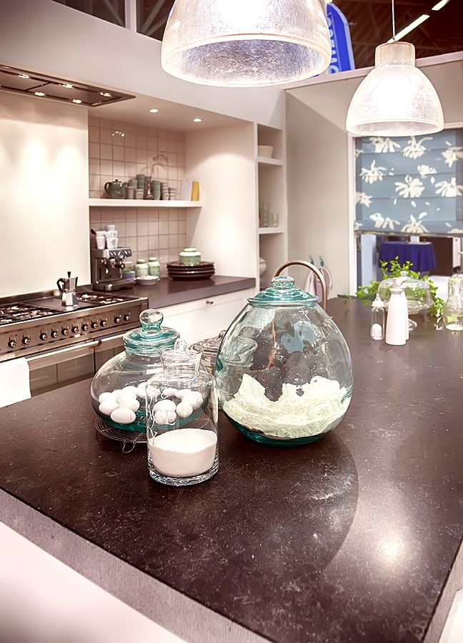 Etwas Sand Und Steinchen Und Fertig Ist Auch Der Maritime Gestaltungslook  In Der Küche
