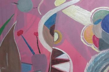 Saatchi Online Artist Paula Silva Santos; Painting, Trip to Venus #art