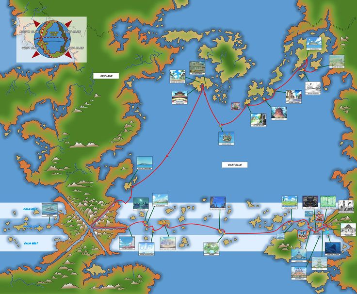 Map Of The Op World One Piece World One Piece New World Blue One Piece