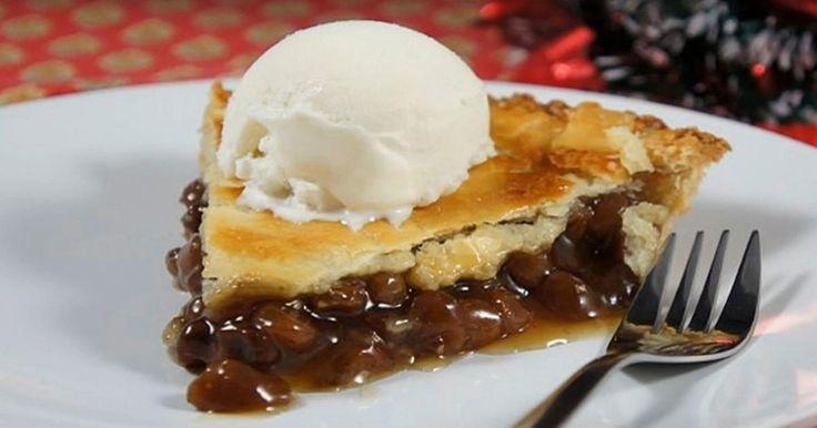Ma grand-mère l'appelait la tarte à la Farlouche! En réalité, c'est une délicieuse tarte aux raisins.