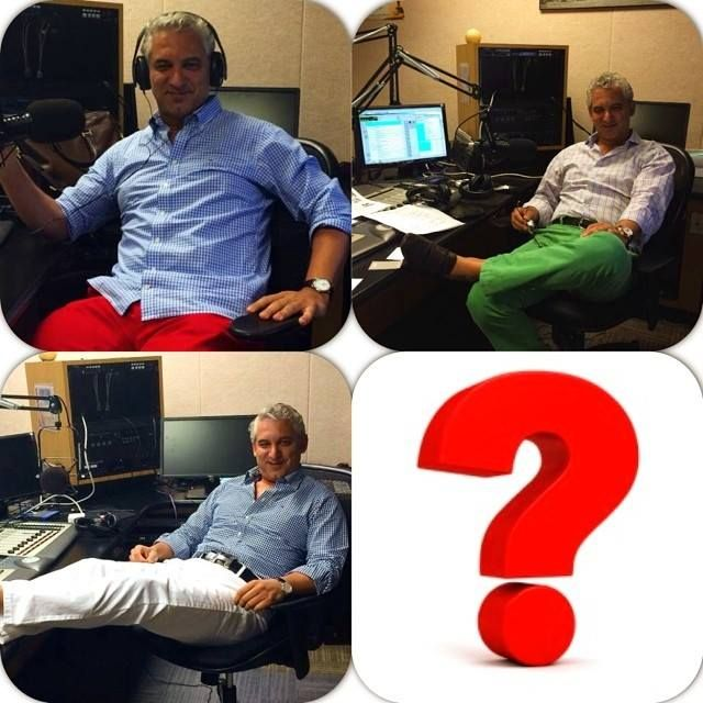 My casual line of clothing on #saturday mornings 10am on @WMCA radio AM 570. So you have seen red, green, and white... What is your favorite and guess the next week color