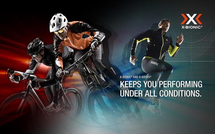 X-BIONIC Wallpaper Bike & Run