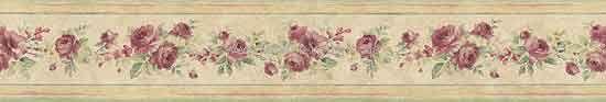 Blumen Tapeten Borte Rosen Landhausstil online kaufen
