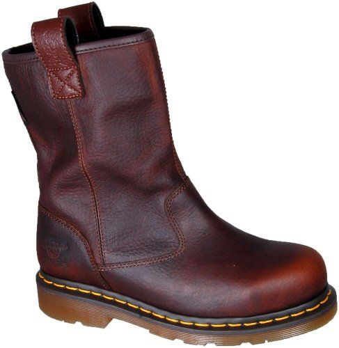Dr. Martens Women's Esme Pull On Steel Toe Boots: Shoes