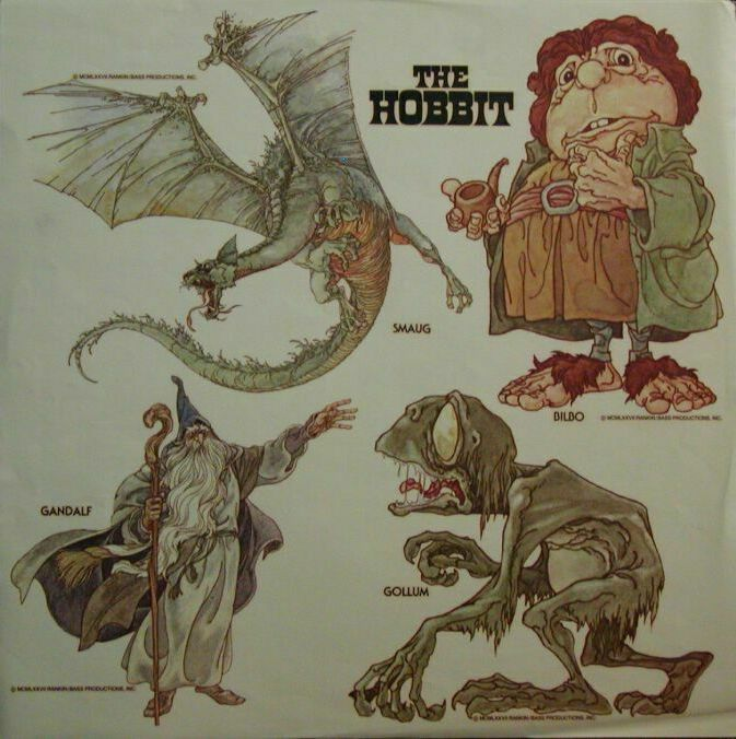 I still remember how excited I was to watch the debut of Rankin & Bass' The Hobbit on NBC Sunday, November 27, 1977. The songs in the show were great, The Greatest Adventure being one of my favorites...........