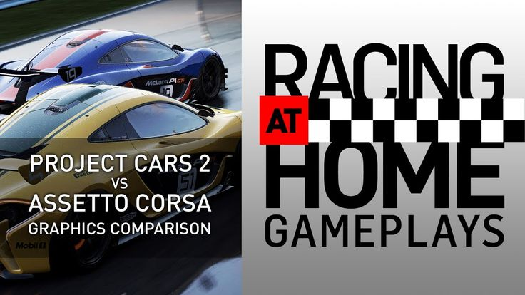 PROJECT CARS 2 VS ASSETTO CORSA - Graphics comparison
