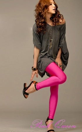 Sexy Metallic Rose Leggings Stretch Metallic Foil Leg Wear Stockings  $18.53