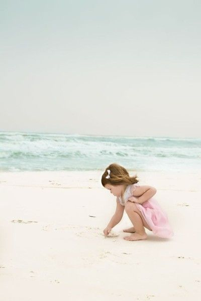 Discovering the Beach- Kids Photos