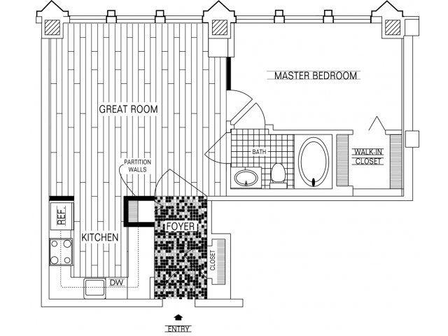 Luxury Apartment Floor Plans 3 Bedroom 20 best floor plans of fisher building city apartments in chicago