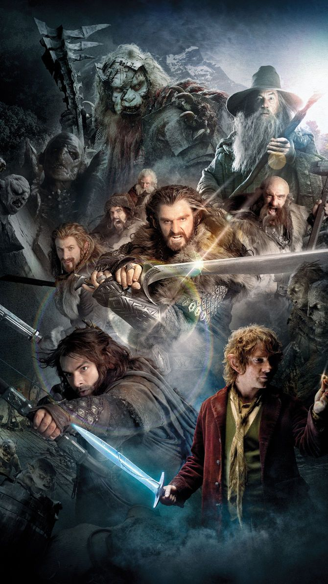 The Hobbit: An Unexpected Journey (2012) Phone Wallpaper ...