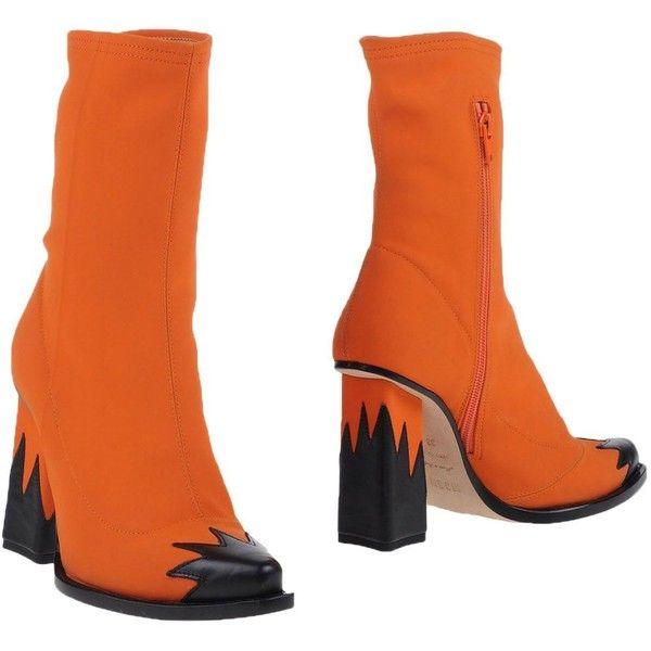 Best 25 Orange Ankle Boots Ideas On Pinterest Fall