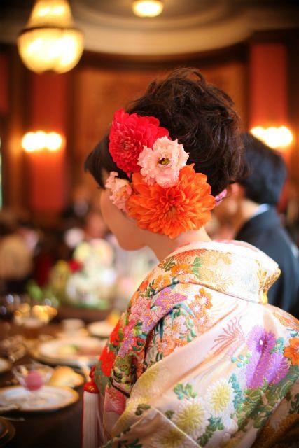 新郎新婦様からのメール 綱町三井倶楽部さまへ3 : 一会 ウエディングの花