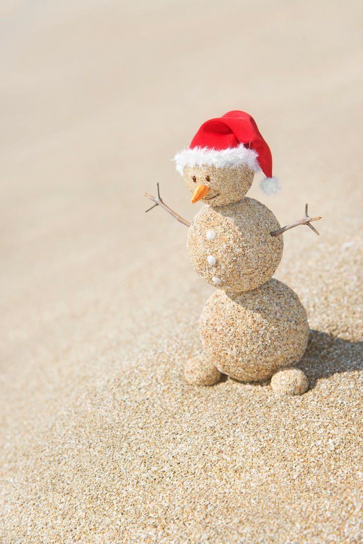 Even frosty needs the occasional vacation.