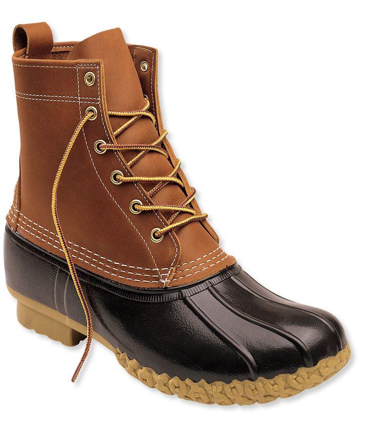 "Men's L.L.Bean Boots, 8"" Thinsulate   Size 10"