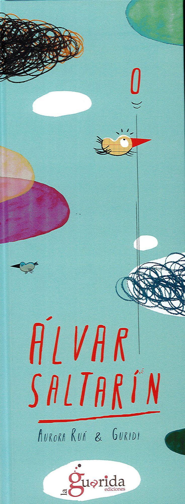 Saltar é o que máis lle gustaba a Álvaro. Saltaba todo o tempo, de día e de noite. Un día subiu a unha cama elástica e saltou e saltou… cada vez máis alto!