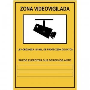 Señal Zona videovigilada -2 - http://www.janfer.com/es/varias/1364-senal-zona-videovigilada-2.html