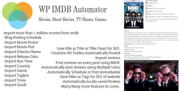 WP IMDB Automator