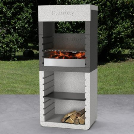 sunday one hood masonry barbecue barbecues hoods and. Black Bedroom Furniture Sets. Home Design Ideas