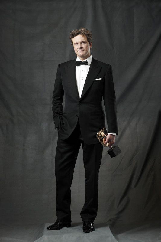 Colin Firth, male actor, celeb, stylish, bow tie, reward, Mr. Darcy, steaming hot, elegant, charming, portrait, photo