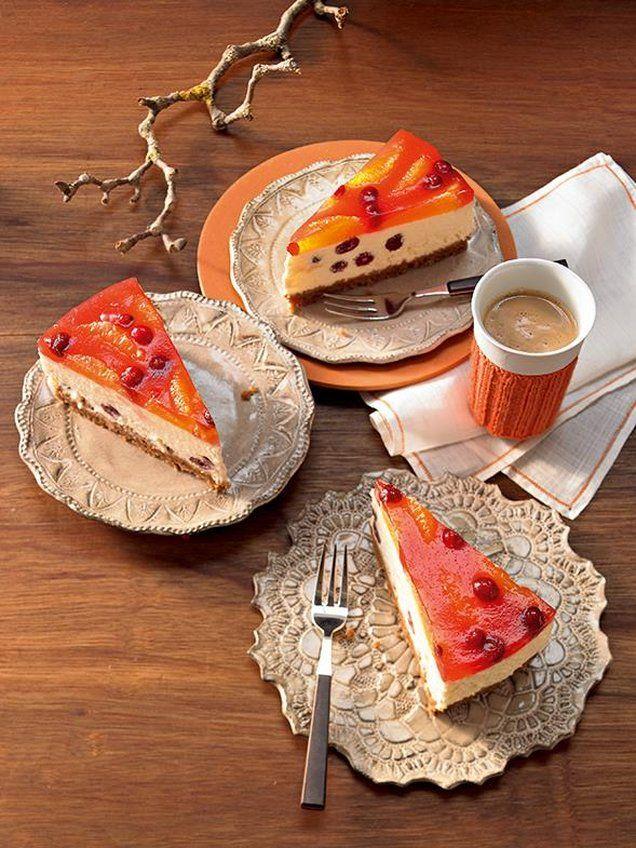 Orangen-Cranberry-Torte Rezept | Dr. Oetker