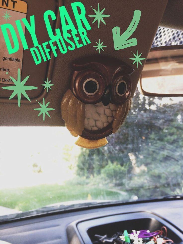DIY Car Diffuser... — Young Living Essential Oils