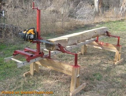 how to make a chainsaw mill - Sök på Google Sådan en kan måske laves til Texas chainsaw?