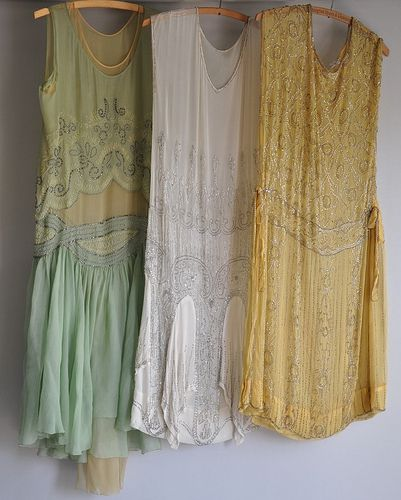1920's finery: 1920 S, Flappers Dresses, Vintage Dresses, Bridesmaid Dresses, Bride Maids Dresses, 20S Style, Twenties Dresses, 1920S Dresses, Three Sisters