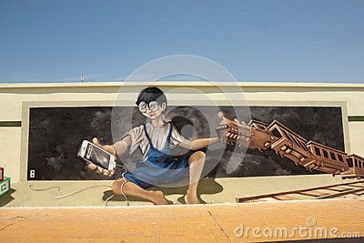 Street Art - Download From Over 25 Million High Quality Stock Photos, Images, Vectors. Sign up for FREE today. Image: 43427445