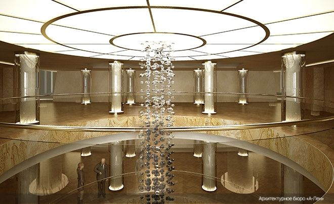 Interior Elements Completion of and the Main Facade of the Mariinsky Theatre Concert Hall