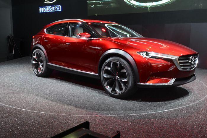 Video: Mazda Koeru = Mazda CX? - Teknavi