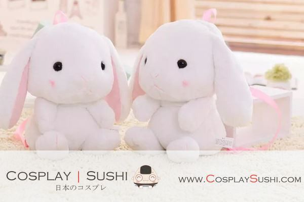 Fluffy #Bunny Backpack #Bag! SHOP NOW ► http://bit.do/CosplaySushi607 Follow Cosplay Sushi for more cosplay ideas! #cosplaysushi #cosplay #anime #otaku #cool #cosplayer #cute #kawaii