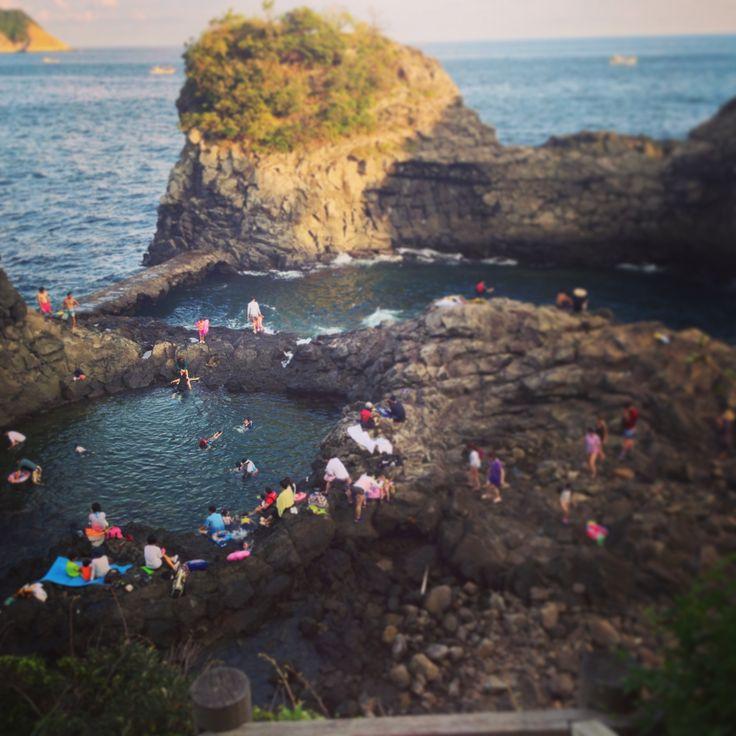:Oedolgae Rock Pools, Jeju South Korea