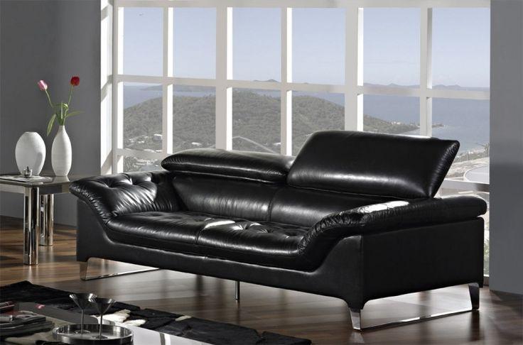 Die Besten 25+ Contemporary Leather Sofa Ideen Auf Pinterest   70 Sofa  Design Ideen