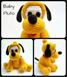 AMIGURUMIES: Baby Pluto